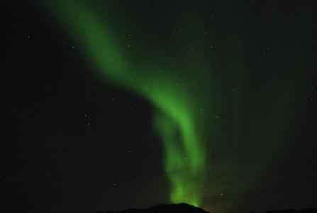 Aurora Borealis in Finnmark Norvegia