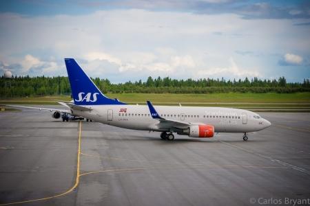 La compagnia aerea di bandiera SAS