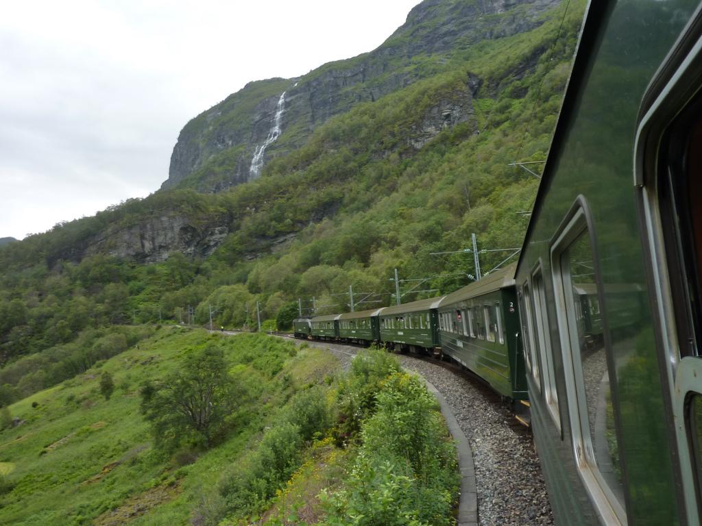 Treni norvegesi (qui sulla ferrovia Flamsbana)